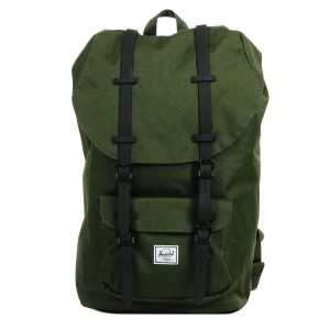 Herschel Sac à dos Little America forest night/black | Pas Cher Jusqu'à 20% - 80%