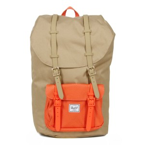 Herschel Sac à dos Little America kelp/vermillion orange [ Promotion Black Friday Soldes ]