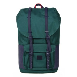 Herschel Sac à dos Little America Aspect deep teal/peacoat [ Promotion Black Friday Soldes ]