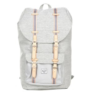 Herschel Sac à dos Little America Offset light grey crosshatch/high rise [ Promotion Black Friday Soldes ]