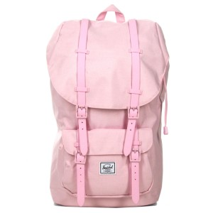 Herschel Sac à dos Little America pink lady crosshatch [ Promotion Black Friday Soldes ]
