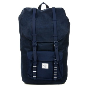 Herschel Sac à dos Little America medievel blue crosshatch/medievel blue [ Promotion Black Friday Soldes ]