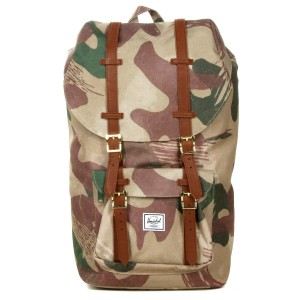 Herschel Sac à dos Little America brushstroke camo [ Promotion Black Friday Soldes ]