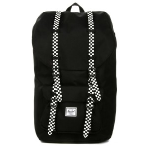 Herschel Sac à dos Little America black/checkerboard [ Promotion Black Friday Soldes ]