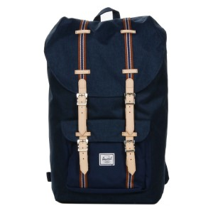 Herschel Sac à dos Little America Offset medieval blue crosshatch/medieval blue [ Promotion Black Friday Soldes ]
