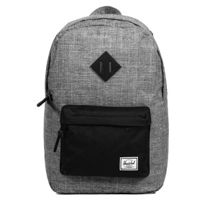 Herschel Sac à dos Heritage Mid Volume raven crosshatch [ Promotion Black Friday Soldes ]