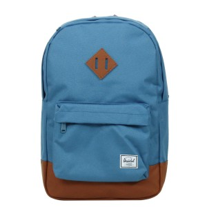 Herschel Sac à dos Heritage Mid Volume captain's blue/tan [ Promotion Black Friday Soldes ]