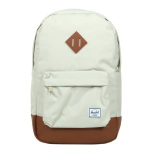 Herschel Sac à dos Heritage Mid Volume pelican/tan [ Promotion Black Friday Soldes ]
