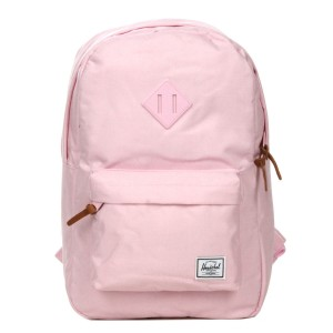 Herschel Sac à dos Heritage Mid Volume pink lady crosshatch [ Promotion Black Friday Soldes ]