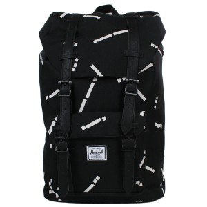 Herschel Sac à dos Little America Mid Volume black code/black [ Promotion Black Friday Soldes ]