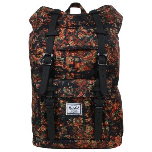 Herschel Sac à dos Little America Mid Volume century/black rubber [ Promotion Black Friday Soldes ]