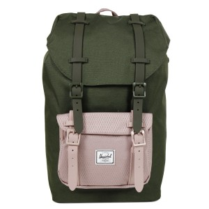 Herschel Sac à dos Little America Mid Volume forest night/ash rose [ Promotion Black Friday Soldes ]