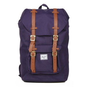 Herschel Sac à dos Little America Mid Volume purple velvet [ Promotion Black Friday Soldes ]