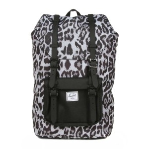 Herschel Sac à dos Little America Mid Volume snow leopard/ black [ Promotion Black Friday Soldes ]