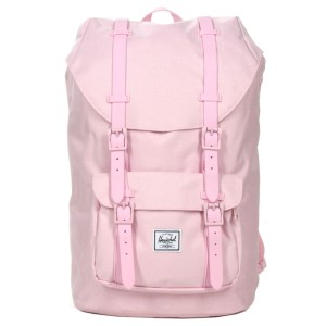 Herschel Sac à dos Little America Mid Volume pink lady crosshatch [ Promotion Black Friday Soldes ]