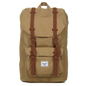 Herschel Sac à dos Little America Mid Volume kelp/saddle brown [ Promotion Black Friday Soldes ]