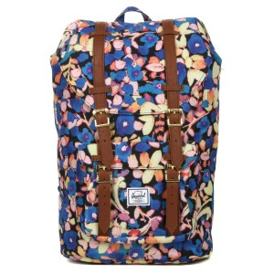 Herschel Sac à dos Little America Mid Volume painted floral [ Promotion Black Friday Soldes ]