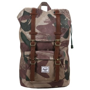 Herschel Sac à dos Little America Mid Volume brushstroke camo [ Promotion Black Friday Soldes ]
