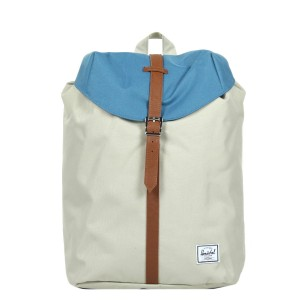 Herschel Sac à dos Post Mid Volume pelican/stellar/tan [ Promotion Black Friday Soldes ]