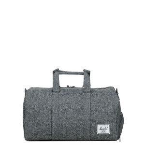 Herschel Sac de voyage Novel 52 cm raven crosshatch [ Promotion Black Friday Soldes ]