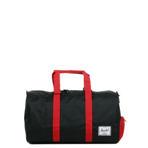 Herschel Sac de voyage Novel 52 cm black/scarlet [ Promotion Black Friday Soldes ]