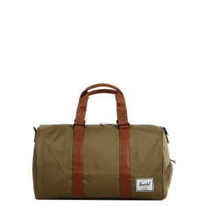 Herschel Sac de voyage Novel 52 cm cub/tan synthetic leather [ Promotion Black Friday Soldes ]
