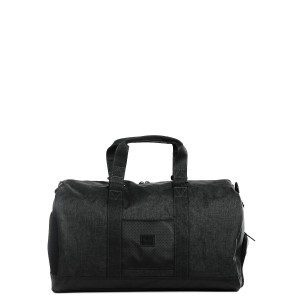 Herschel Sac de voyage Novel Aspect 52 cm black crosshatch/black/white [ Promotion Black Friday Soldes ]