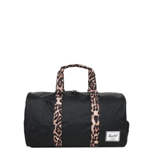 Herschel Sac de voyage Novel 52 cm black/desert cheetah [ Promotion Black Friday Soldes ]