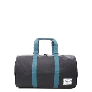 Herschel Sac de voyage Novel 52 cm black/deep teal [ Promotion Black Friday Soldes ]