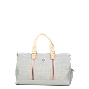 Herschel Sac de voyage Novel Offset 52 cm light grey crosshatch/high rise | Pas Cher Jusqu'à 20% - 80%
