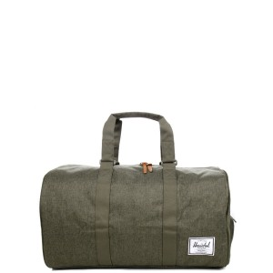 Herschel Sac de voyage Novel 52 cm olive night crosshatch/olive night [ Promotion Black Friday Soldes ]