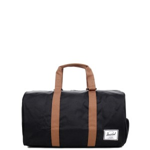Herschel Sac de voyage Novel 52 cm black/saddle brown [ Promotion Black Friday Soldes ]