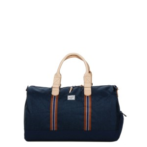 Herschel Sac de voyage Novel Offset 52 cm medieval blue crosshatch/medieval blue [ Promotion Black Friday Soldes ]