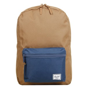 Herschel Sac à dos Settlement Mid Volume caramel navy [ Promotion Black Friday Soldes ]
