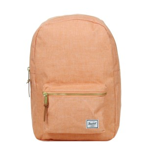 Herschel Sac à dos Settlement Mid Volume nectarine crosshatch [ Promotion Black Friday Soldes ]