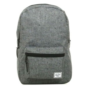 Herschel Sac à dos Settlement Mid Volume scattered raven crosshatch [ Promotion Black Friday Soldes ]