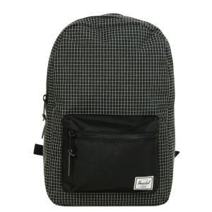 Herschel Sac à dos Settlement Mid Volume black grid [ Promotion Black Friday Soldes ]