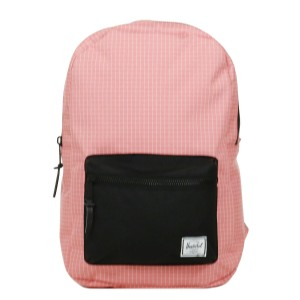 Herschel Sac à dos Settlement Mid Volume strawberry ice grid/black | Pas Cher Jusqu'à 20% - 80%
