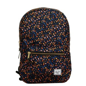 Herschel Sac à dos Settlement Mid Volume black mini floral [ Promotion Black Friday Soldes ]