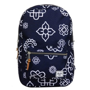 Herschel Sac à dos Settlement Mid Volume peacoat paisley [ Promotion Black Friday Soldes ]