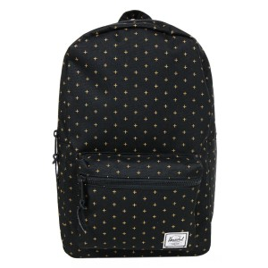 Herschel Sac à dos Settlement Mid Volume black gridlock gold [ Promotion Black Friday Soldes ]