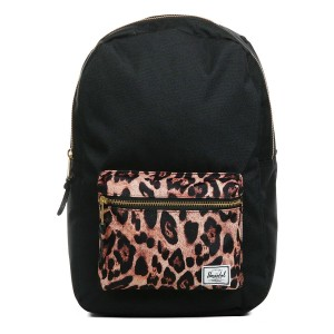 Herschel Sac à dos Settlement Mid Volume black/desert cheetah [ Promotion Black Friday Soldes ]