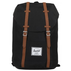 Herschel Sac à dos Retreat black/tan [ Promotion Black Friday Soldes ]