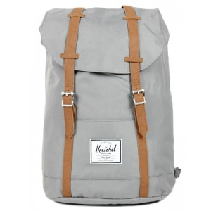 Herschel Sac à dos Retreat grey/tan [ Promotion Black Friday Soldes ]