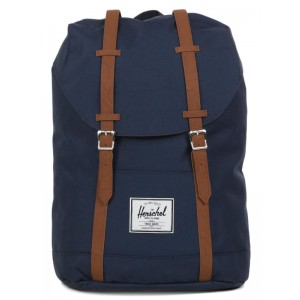 Herschel Sac à dos Retreat navy/tan [ Promotion Black Friday Soldes ]