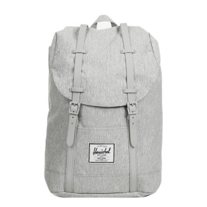 Herschel Sac à dos Retreat light grey crosshatch [ Promotion Black Friday Soldes ]