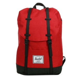 Herschel Sac à dos Retreat barbados cherry crosshatch/black crosshatch [ Promotion Black Friday Soldes ]
