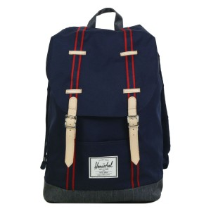 Herschel Sac à dos Retreat Offset peacoat/dark denim [ Promotion Black Friday Soldes ]