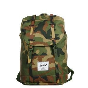 Herschel Sac à dos Retreat woodland camo [ Promotion Black Friday Soldes ]