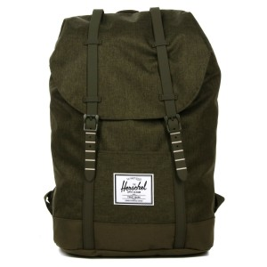 Herschel Sac à dos Retreat olive night crosshatch/olive night | Pas Cher Jusqu'à 20% - 80%